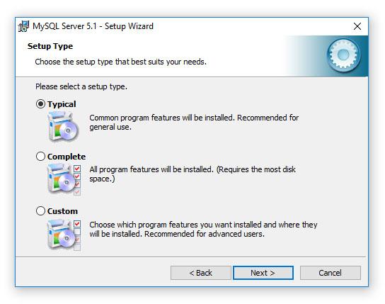 DiskPulse - Disk Change Monitor - Installing MySQL Database